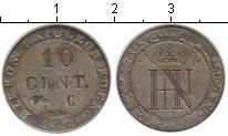 Изображение Монеты Вестфалия 10 сентим 1810 Серебро VF