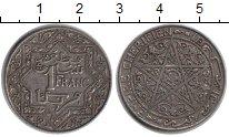 Изображение Монеты Марокко 1 франк 0 Медно-никель VF