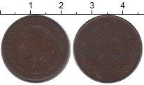 Изображение Монеты Люксембург 10 сантим 1930 Медь VF