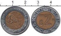 Изображение Монеты Мексика 2 песо 2006 Биметалл