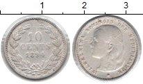 Изображение Монеты Нидерланды 10 центов 1894 Серебро XF Вильгельмина
