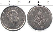 Изображение Монеты Монако 2 франка 1979 Медно-никель XF