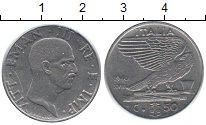 Изображение Монеты Италия 50 сентесим 1940 Медно-никель XF Витторио Имануил III