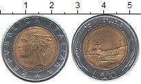 Изображение Монеты Италия 500 лир 1982 Биметалл XF