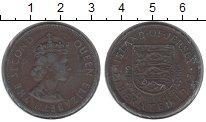 Изображение Монеты Остров Джерси 1/12 шиллинга 1954 Медь VF