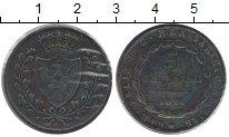 Изображение Монеты Италия Сардиния 5 чентезимо 1826 Медь XF