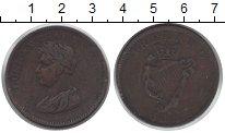 Изображение Монеты Ирландия 1 пенни 0 Медь XF
