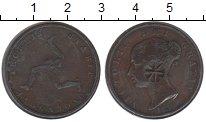Изображение Монеты Великобритания Остров Мэн 1/2 пенни 1839 Медь VF