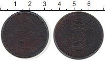 Изображение Монеты Нидерландская Индия 2 1/2 цента 1913 Медь VF