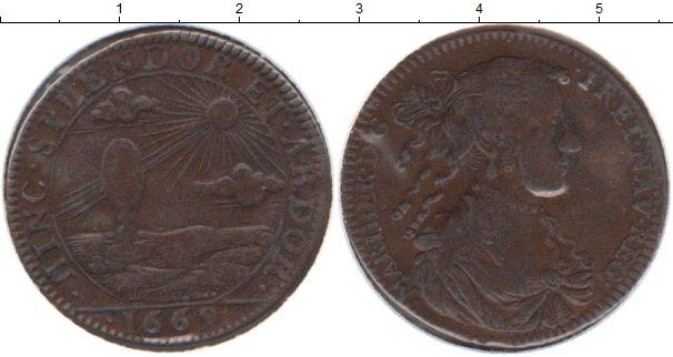 Картинка Монеты Франция жетон Медь 1669