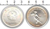 Изображение Монеты Вьетнам 100 донг 1986 Серебро UNC-