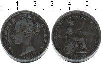 Изображение Монеты Великобритания 1/2 пенни 1854 Медь