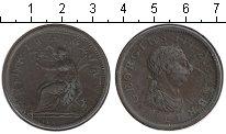 Изображение Монеты Великобритания 1 пенни 1801 Медь VF
