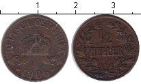 Изображение Монеты Германия Немецкая Африка 1/2 геллера 1906 Медь VF