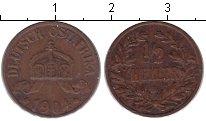 Изображение Монеты Немецкая Африка 1/2 геллера 1904 Медь VF A
