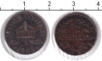 Изображение Монеты Немецкая Африка 1/2 геллера 1906 Медь VF J