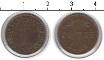 Изображение Монеты Веймарская республика 1 пфенниг 1935 Медь XF А