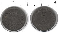 Изображение Монеты Германия 5 пфеннигов 1921 Железо VF