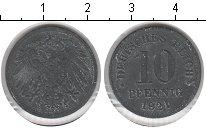Изображение Монеты Германия 10 пфеннигов 1921 Цинк VF Германская империя.