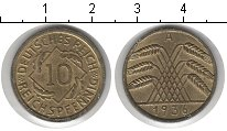 Изображение Монеты Веймарская республика 10 пфеннигов 1936 Медь XF