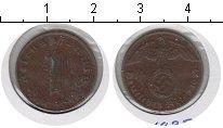 Изображение Монеты Третий Рейх 1 пфенниг 1937 Медь VF A