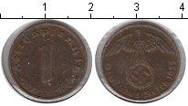 Изображение Монеты Третий Рейх 1 пфенниг 1937 Медь VF