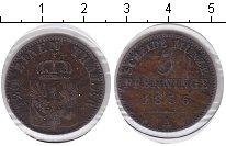 Изображение Монеты Пруссия 3 пфеннига 1856 Медь XF