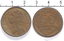 Изображение Монеты Франция 50 сантим 1963 Медь XF
