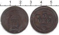 Изображение Монеты Швеция 5 эре 1881 Медь VF
