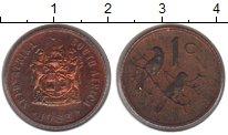 Изображение Монеты ЮАР 1 цент 1983 Медь XF