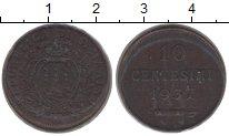 Изображение Монеты Сан-Марино 10 сентесим 1937 Медь