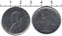 Изображение Монеты Ватикан 100 лир 1964  UNC-