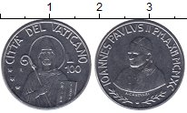 Изображение Мелочь Ватикан 100 лир 1990  UNC-