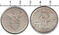 Изображение Монеты Филиппины 50 сентаво 1921 Серебро XF