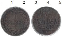 Изображение Монеты Сант-Галлен 1 батзен 1813 Медь