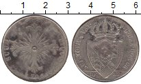 Изображение Монеты Швейцария 10 1/2 батзен 1796 Серебро XF