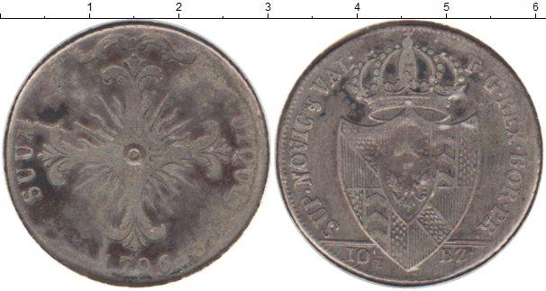 Картинка Монеты Швейцария 10 1/2 батзен Серебро 1796