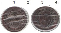 Изображение Монеты Швейцария 2 раппа 1814 Медь XF