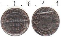 Изображение Монеты Цюрих 1 шиллинг 1747
