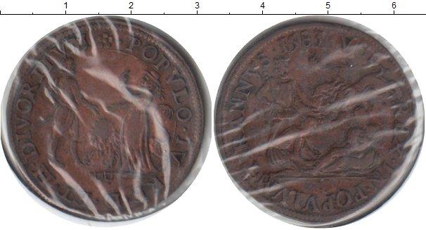 Картинка Монеты Испания Токен Медь 1583