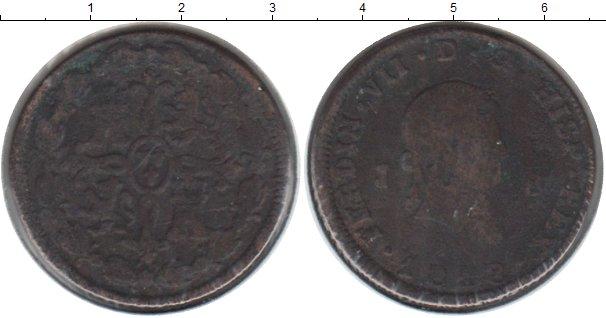 Картинка Монеты Испания 8 мараведи Медь 1818