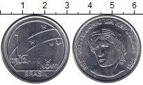 Изображение Мелочь Бразилия 1 крузадо 1989 Железо UNC-