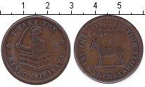 """Изображение Монеты США Токен 1833 Медь  Деньги """"трудных врем"""