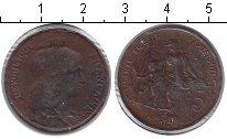 Изображение Монеты Франция 5 сантим 1917 Медь XF