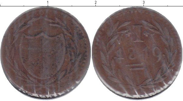 Картинка Монеты Франкфурт 1 хеллер Медь 1819