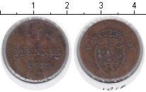 Изображение Монеты Гессен-Дармштадт 1 пфенниг 1819 Медь VF