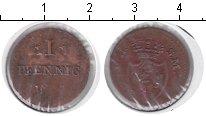 Изображение Монеты Германия Гессен-Дармштадт 1 пфенниг 1819 Медь VF