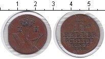 Изображение Монеты Гессен-Кассель 2 хеллера 1752 Медь VF