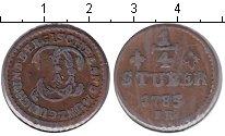 Изображение Монеты Юлих-Берг 1/4 стюбера 1785 Медь VF