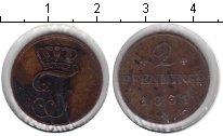 Изображение Монеты Мекленбург-Шверин 2 пфеннига 1881 Медь XF